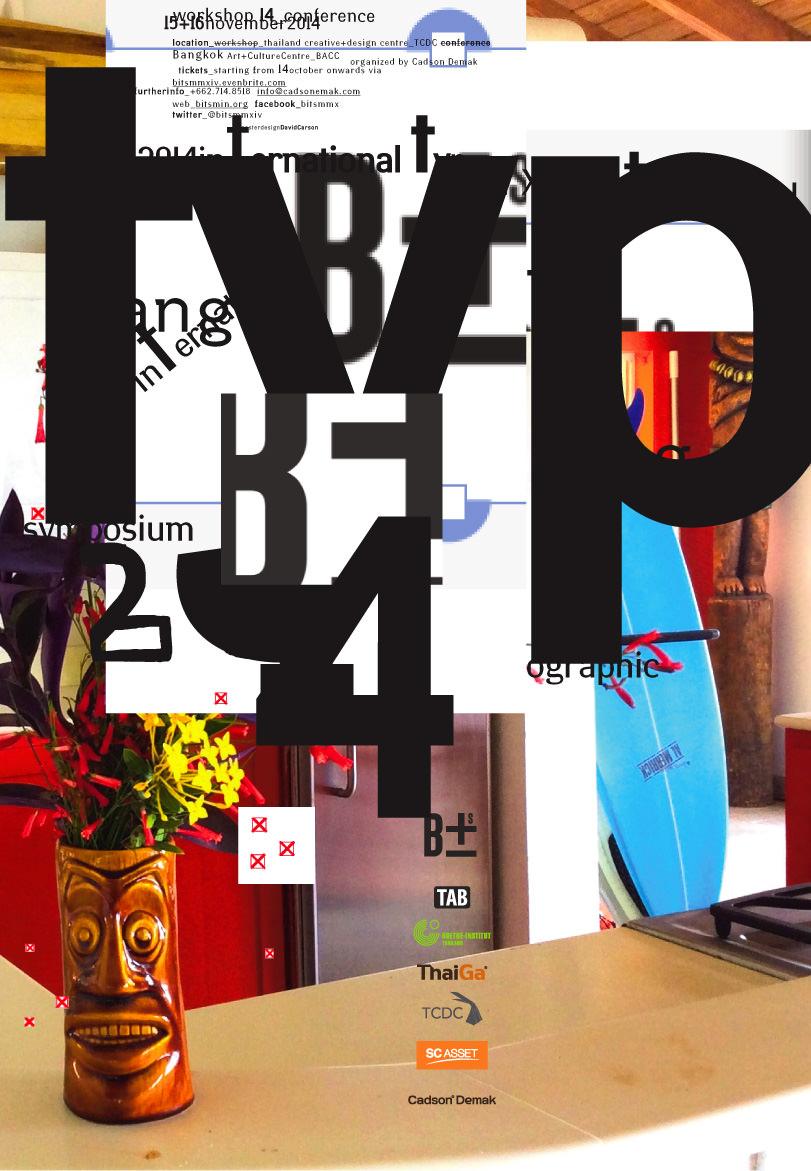 Poster design jobs london - International Type Symposium Bangkok 2014 Poster Design And Foto Dc